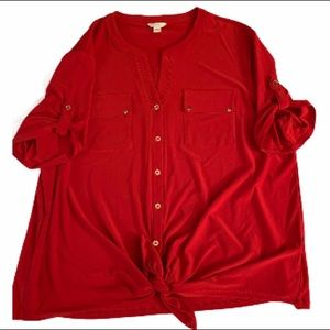 GUC CATO BLOUSE XL FITS 14/16 MAKE AN OFFER